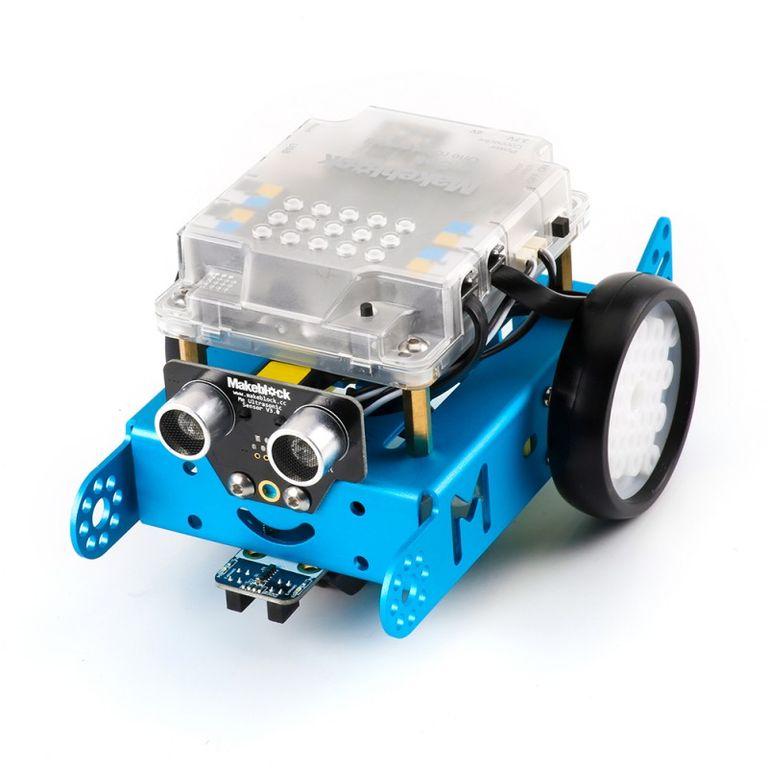 Робототехнический набор mBotV1.1-Blue (2.4G-версия)