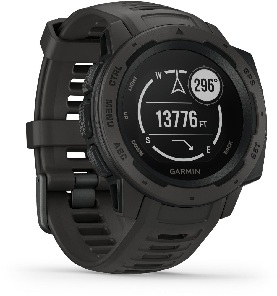 Умные часы Garmin Instinct 010-02064-00 (Graphite)