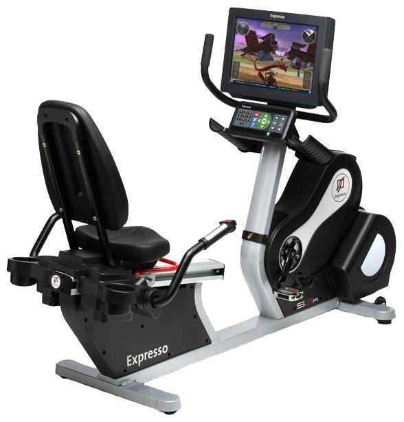 Горизонтальный велотренажер Expresso Fitness S3R