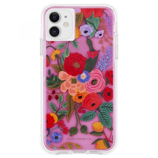 Чехол Case-Mate Riffle Paper для iPhone 11. Дизайн Garden Party - Blush.