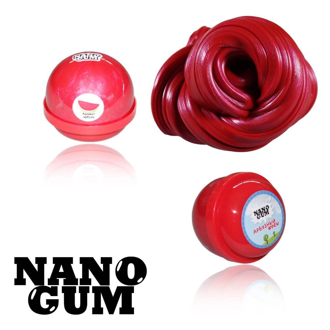 Жвачка для рук Nano gum Арбузный Фреш 25гр.