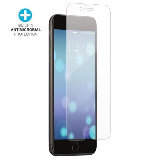 Антимикробное защитное стекло Case-Mate CLEANSCREENZ для iPhone SE (2020) /8/7/6s/6. Материал: закаленное стекло. Размер изделия: 12.9 x 5.85 x 0.05 см  Case-Mate CLEANSCREENZ Antimicrobial Glass Screen Protector for iPhone SE (2020) /8/7/6s/6