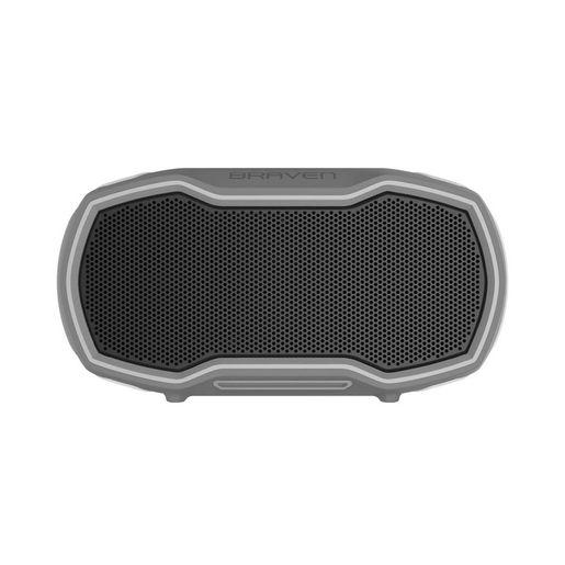 Беспроводная акустика Braven Ready Prime. Цвет серыйсерыйоранжевый