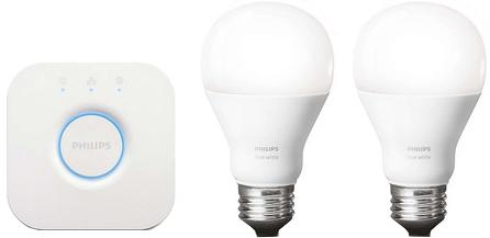 Управляемые лампы Philips Hue White A19 Starter Kit 455287 2 шт (White)