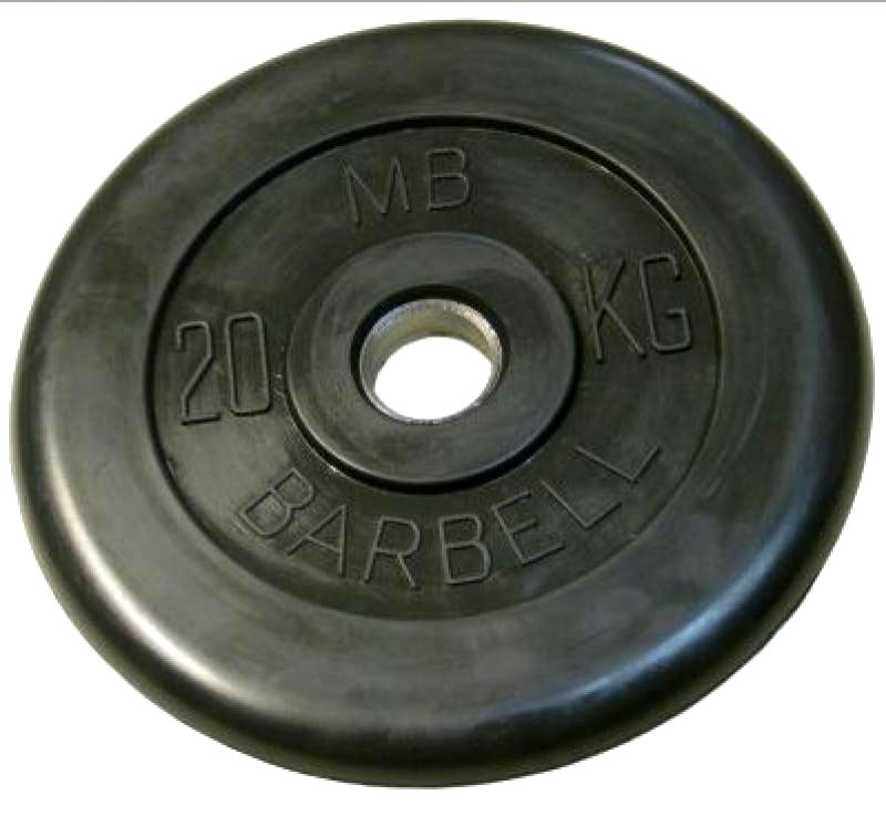 Barbell диски 20 кг 26 мм