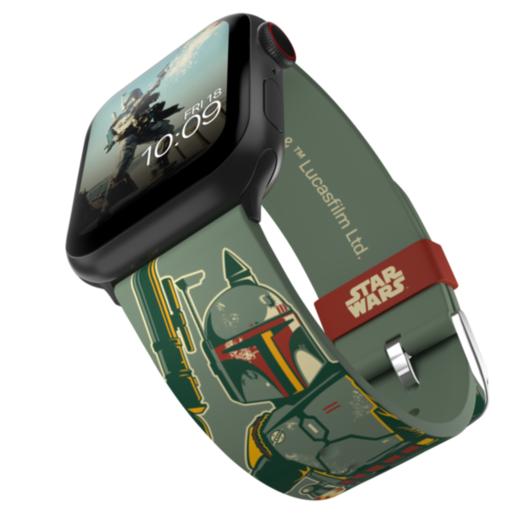 Ремешок MobyFox STAR WARS - Boba Fett, зеленый (для Apple Watch, все размеры)