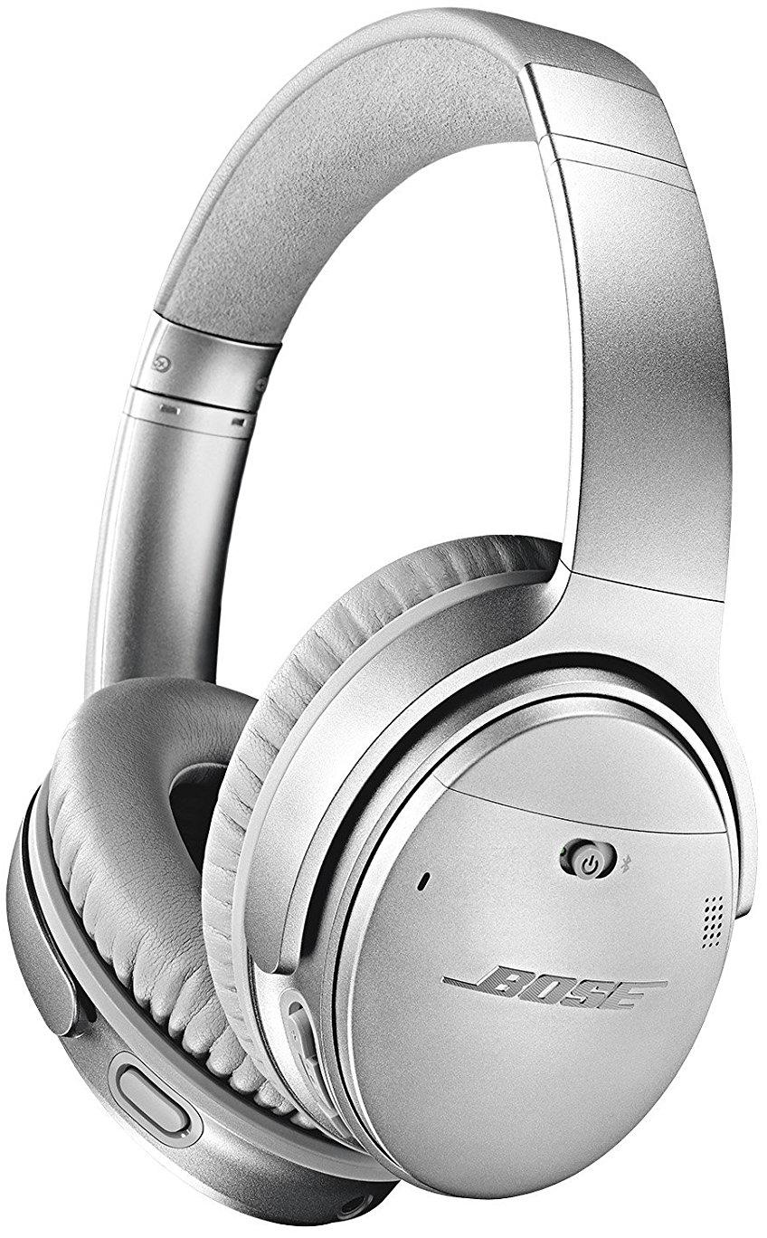 Bluetooth-наушники Bose QuietComfort 35 II с микрофоном (Silver)