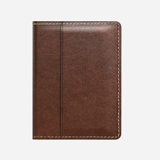 Кошелёк Nomad Slim Leather Wallet Материал кожа натуральная. Цвет темно-коричневый.