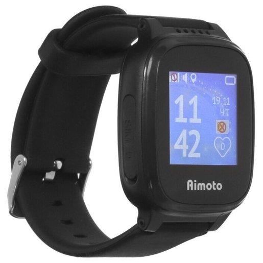 AIMOTO Умные часы-телефон с GPS Aimoto Kid Mini (Черный)