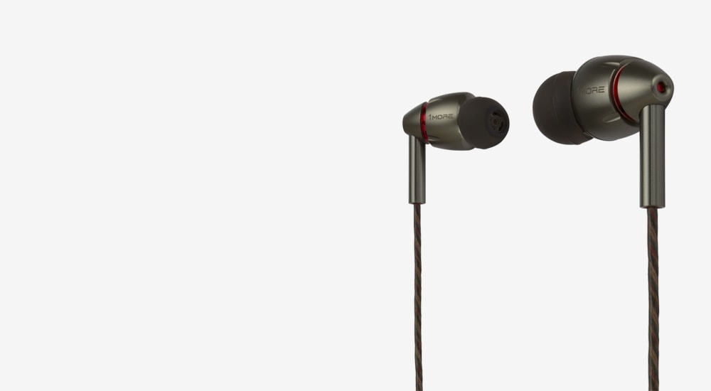 Стерео-наушники 1MORE E1010 Quad Driver In-Ear Headphones (1MEJE0032)