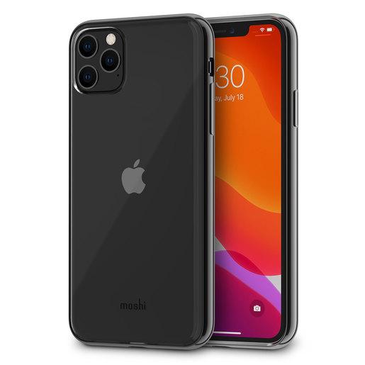 Чехол Moshi Vitros для iPhone 11 Pro Max. Цвет прозрачный черный.