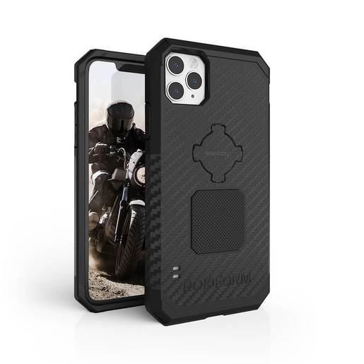 Противоударный чехол-накладка Rokform Rugged Case для iPhone 11 Pro Max со встроенным магнитом.. Материал: поликарбонат. Цвет: черный. Rokform Rugged Case for iPhone 11 Pro Max - Black