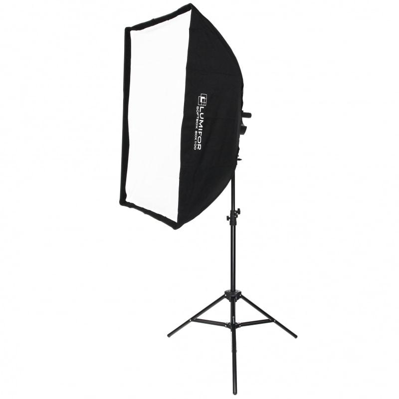 Комплект постоянного студийного света Lumifor MIRA LFL-632 SR KIT, флуоресцентный 6х32Вт, Софтбокс, Рефлектор