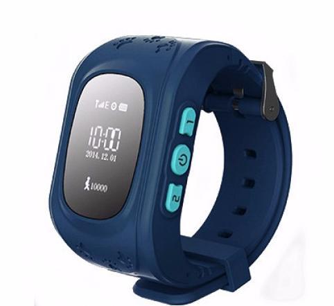 Кнопка жизни К911 - детские часы-телефон с GPS-геолокацией (Dark Blue)