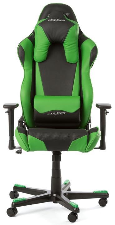 Компьютерное игровое кресло DXRacer Racing OH/RB1/NE (Green)