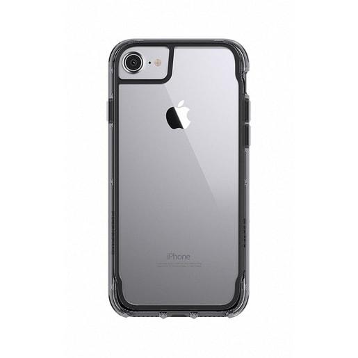 Чехол Griffin Survivor Clear для iPhone 7/6s/6. Материал пластик. Цвет прозрачный серый.