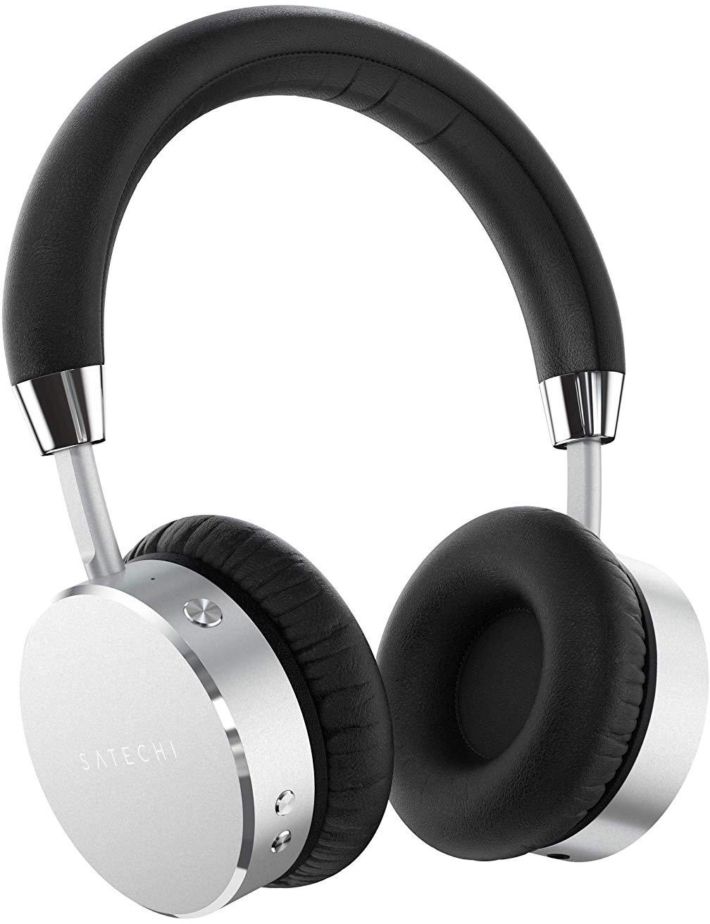Bluetooth-наушники с микрофоном Satechi Aluminum ST-AHPS (Silver)
