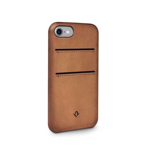 Чехол-накладка Twelve South Relaxed для iPhone 7 с отделениями для кредитных карт. Цвет светло-коричневый.