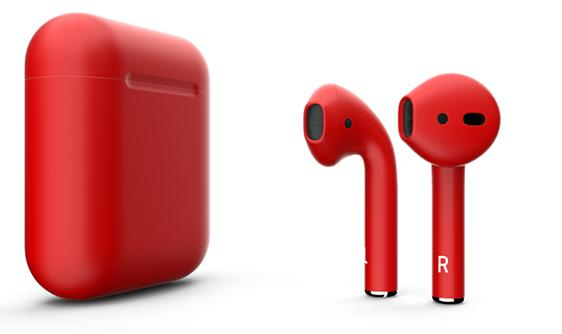 Беспроводные наушники Apple AirPods Color (Gloss Red)