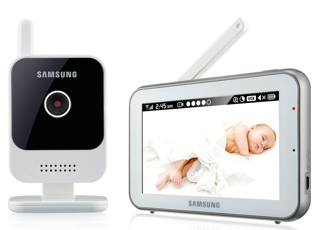 Видеоняня Samsung SEW-3042WP (White)