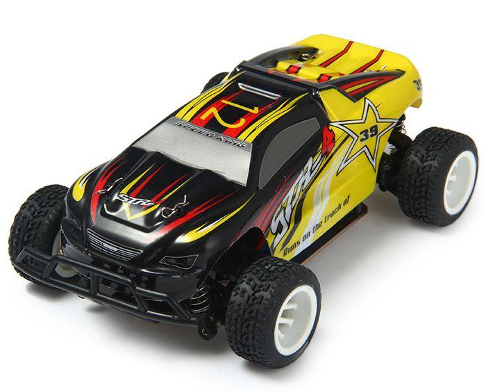 WLToys Радиоуправляемая машина Трагги 1/24 электро 4WD