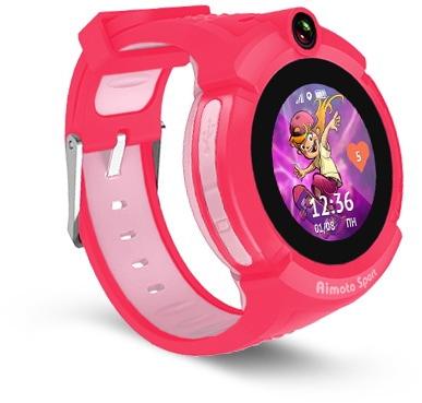 Умные часы с GPS Кнопка жизни Aimoto Sport (Red)