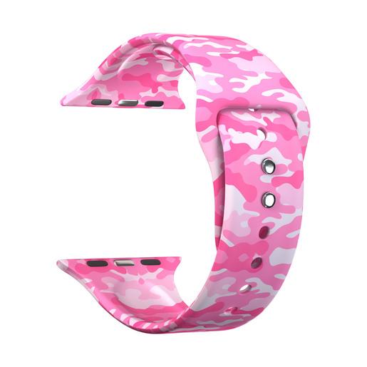 Lyambda Urban Силиконовый ремешок для Apple Watch 38/40 mm DSJ-10-109A-40 military pink