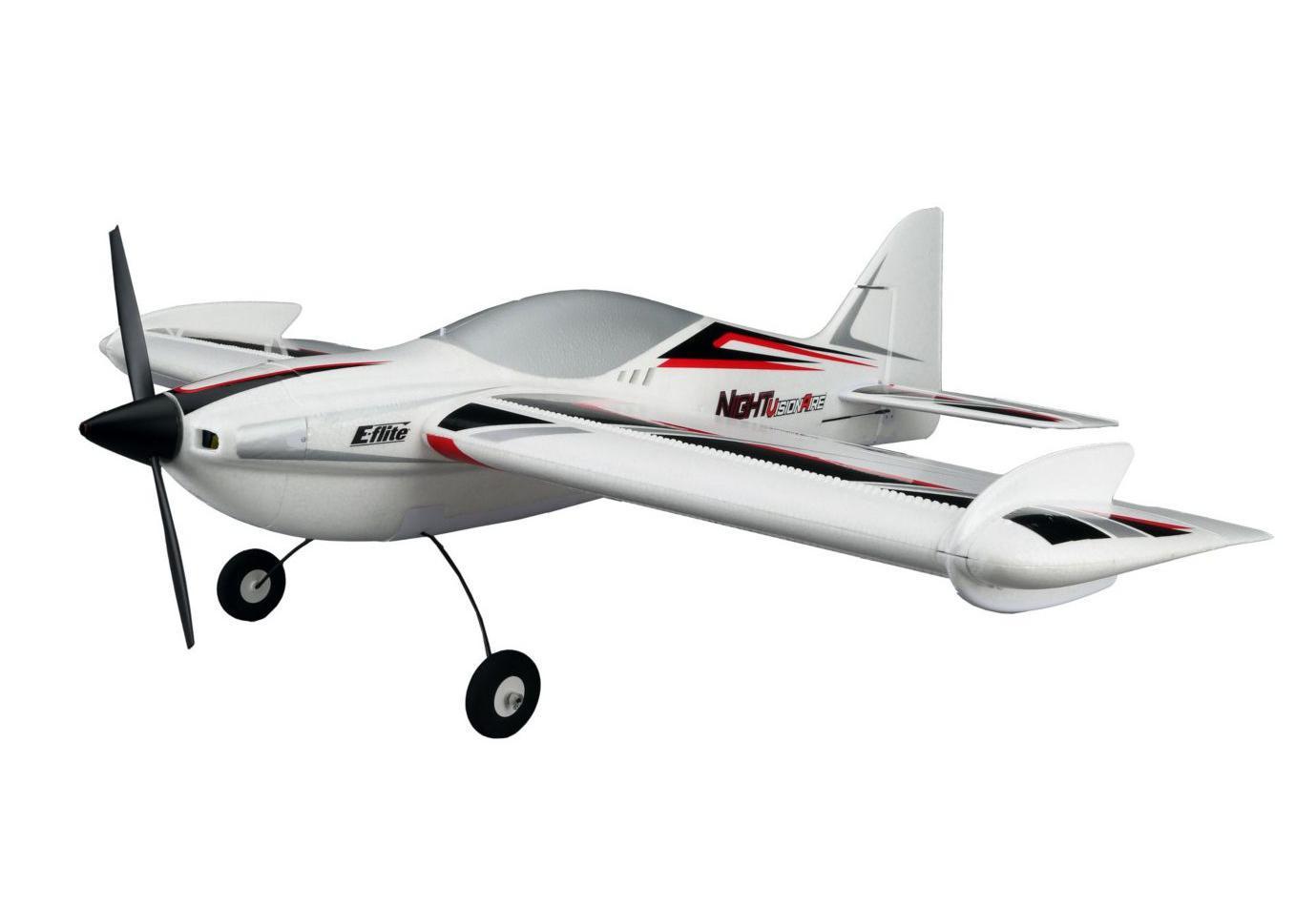 E-flite Радиоуправляемый Самолет - NIGHTvisionaire BNF Basic