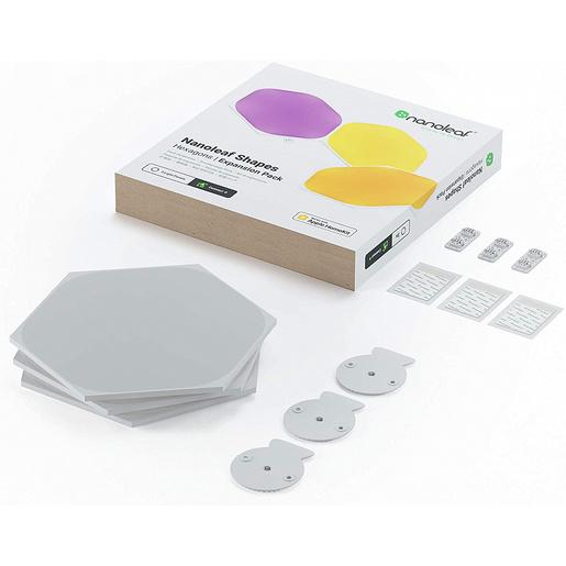 Набор дополнительных панелей Nanoleaf Shapes Hexagon без управляющего блока. В комплекте 3 шт.