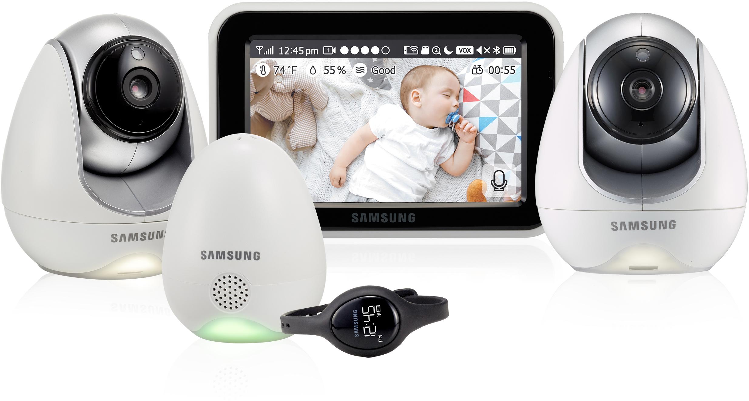 Видеоняня Samsung SEW-3057WPX2 2 шт (White)