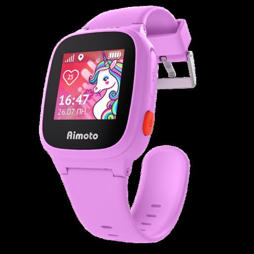 """AIMOTO Kid """"Единорог"""" Умные часы-телефон с GPS - Розовый"""