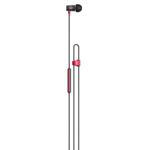 Наушники iFrogz Luxe Air с микрофоном вставные. Цвет красный.