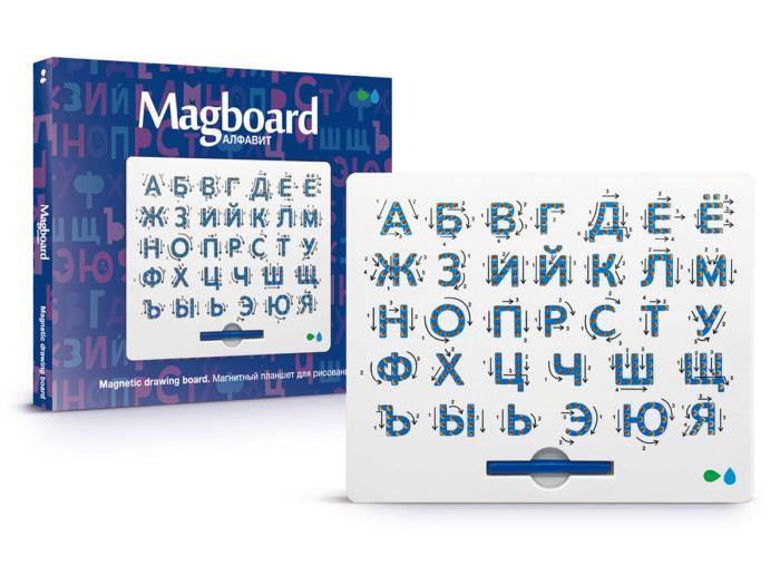 Планшет для рисования магнитами Magboard Алфавит