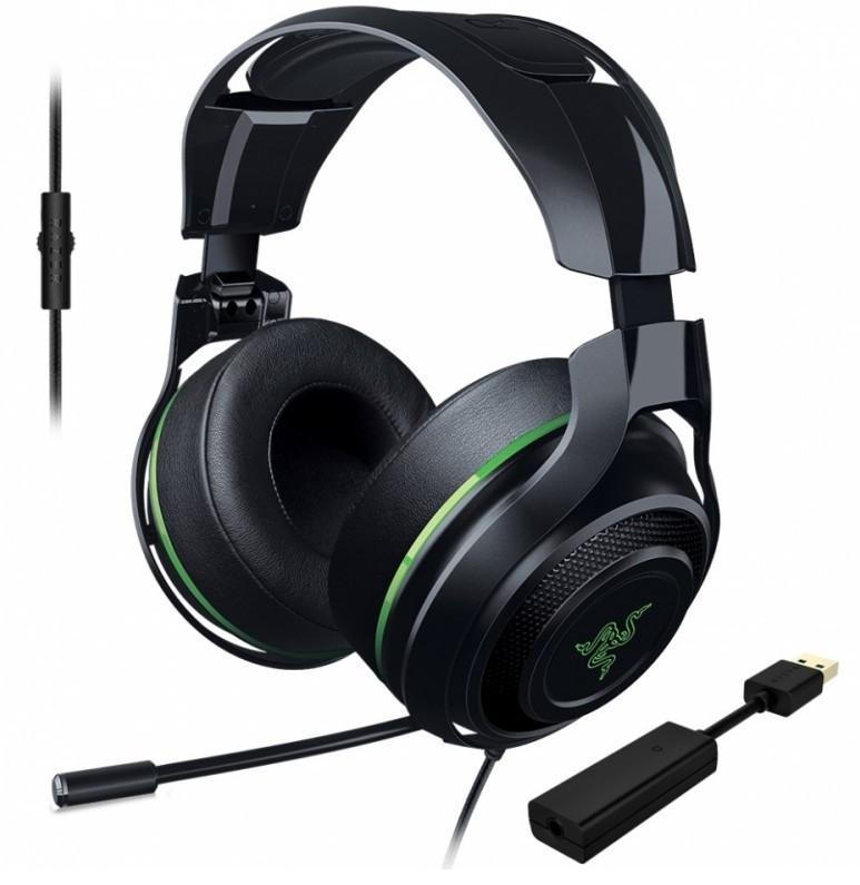 Проводная гарнитура Razer ManOWar 7.1 RZ04-01920300-R3M1 (Black/Green)