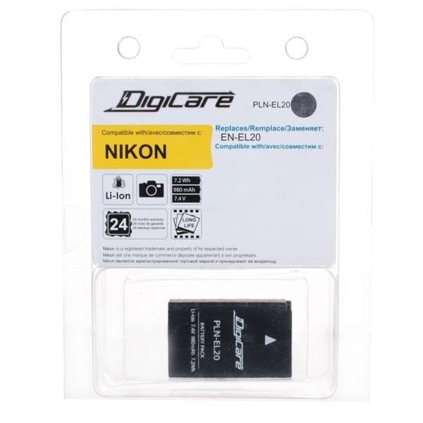 DigiCare PLN-EL20 / EN-EL20 для Nikon 1 J1, J2
