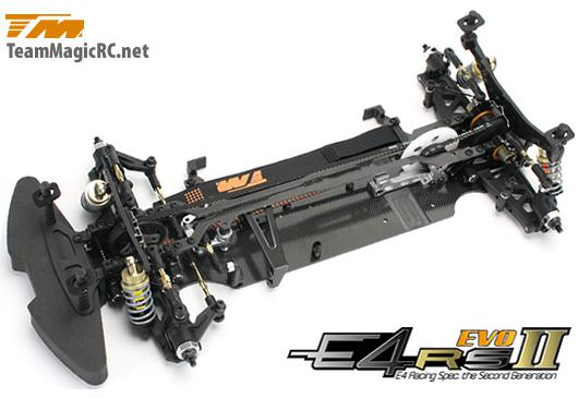 Team Magic Шасси туринг 1/10 Electric - 4WD Team Magic E4RS II EVO (Spool Ver.) в разборе