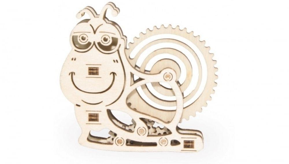 3D-пазл из дерева Wood Trick Вудик Улитка