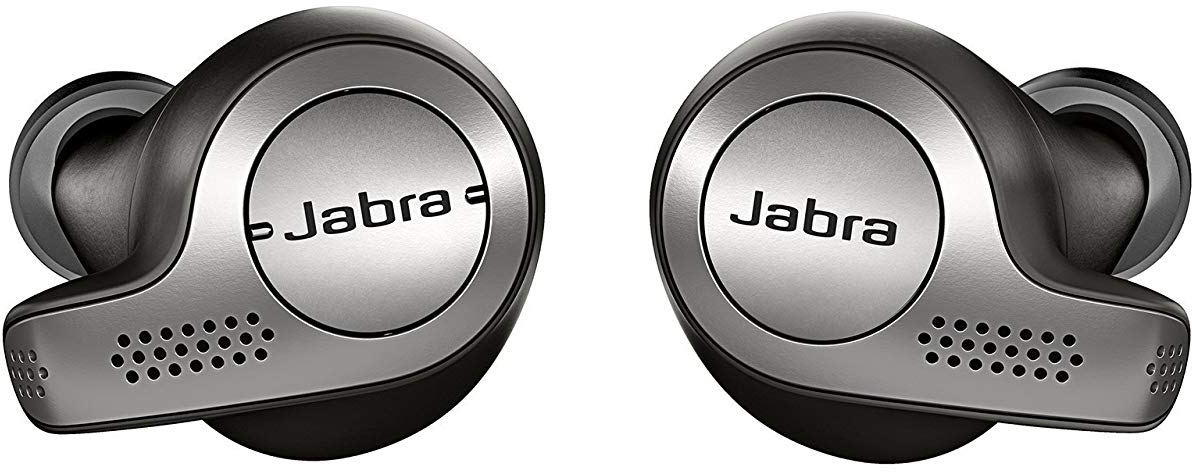 Bluetooth-наушники с микрофоном Jabra Elite 65T (Titanium Black)