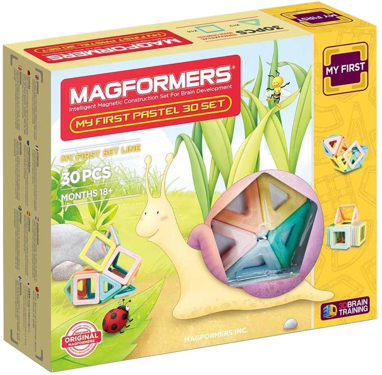 Магнитный конструктор Magformers My First Pastelle 30 (702013)