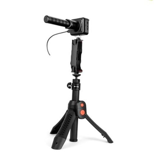 Комплект микрофон IK Multimedia iRig Mic Video и монопод IK Multimedia iKlip Grip Pro