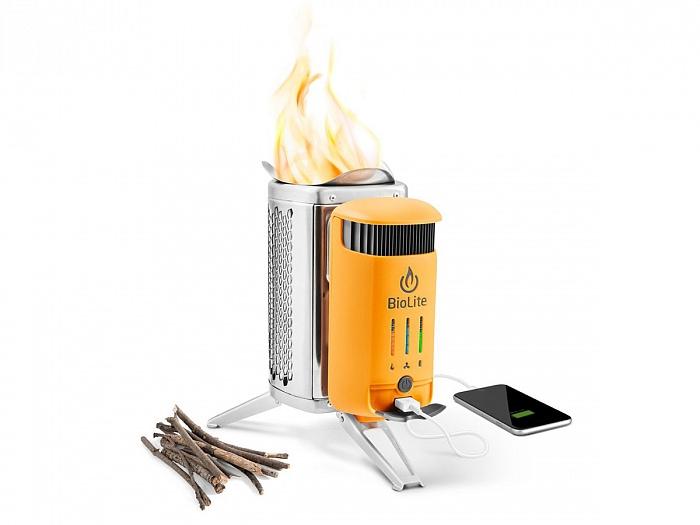 Печь-зарядка гаджетов на дровах BioLite CampStove 2 CSC1001