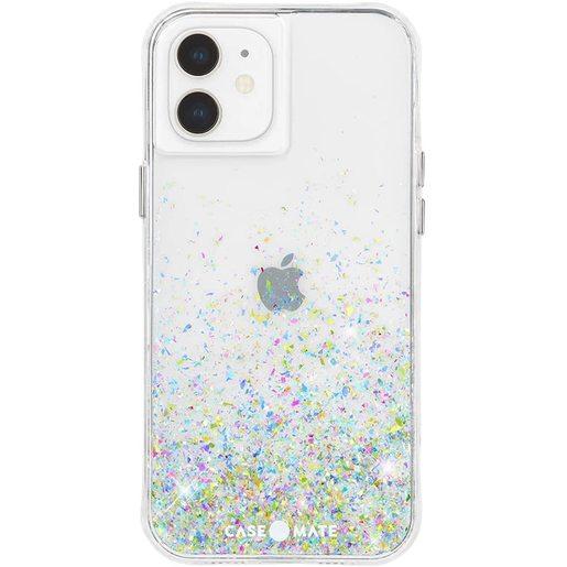 Чехол-накладка Case-Mate Twinkle Ombre для iPhone 12 mini, покрытый антимикробным материалом. Материалы: поликарбонат, ТПУ. Размер изделия: 13.7 x 7 x 1.18 см. Дизайн: Confetti.
