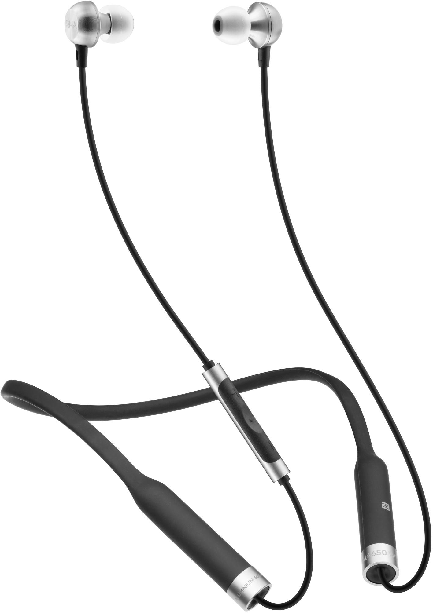 Bluetooth-наушники с микрофоном RHA MA650 Wireless (Black)