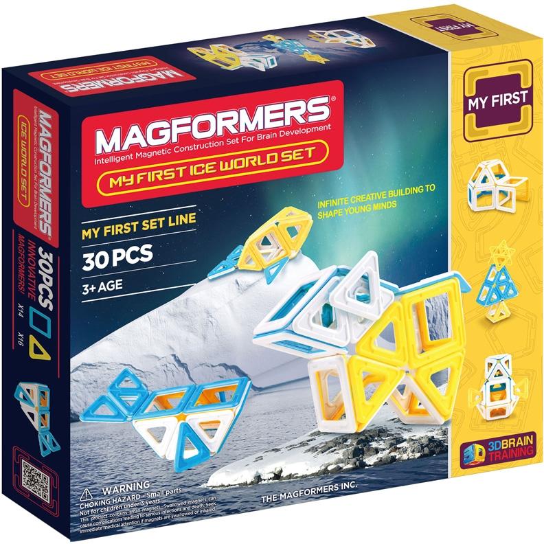 Магнитный конструктор Magformers My First Ice World Set (63136/702003)