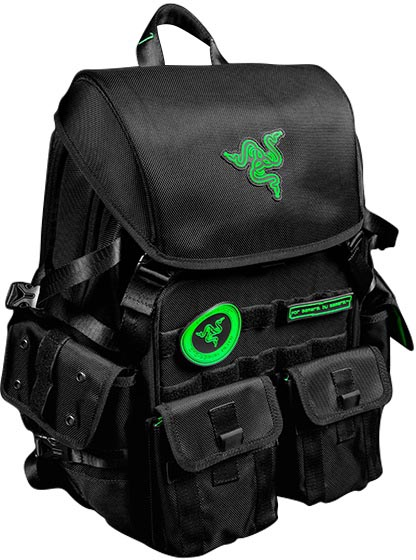 "Рюкзак Razer Tactical Pro Backpack для ноутбука 17"" (Black)"