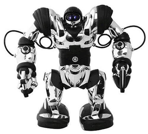 Радиоуправляемая игрушка WowWee Robosapien 8083 (Silver)