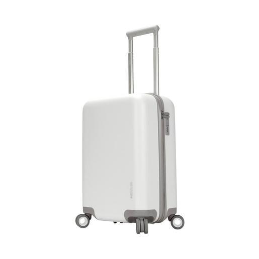 Чемодан для путешествий Incase Novi 4 Wheel Hubless 22. Материал пластик. Объем 41 л. Цвет белый.