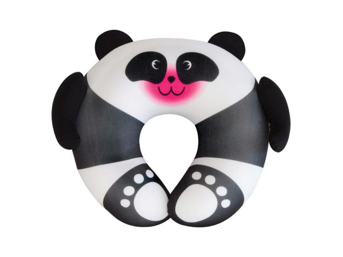 Детская подушка для путешествий Travel Blue Fun Pillow Панда с наполнителем из микробисера (236)