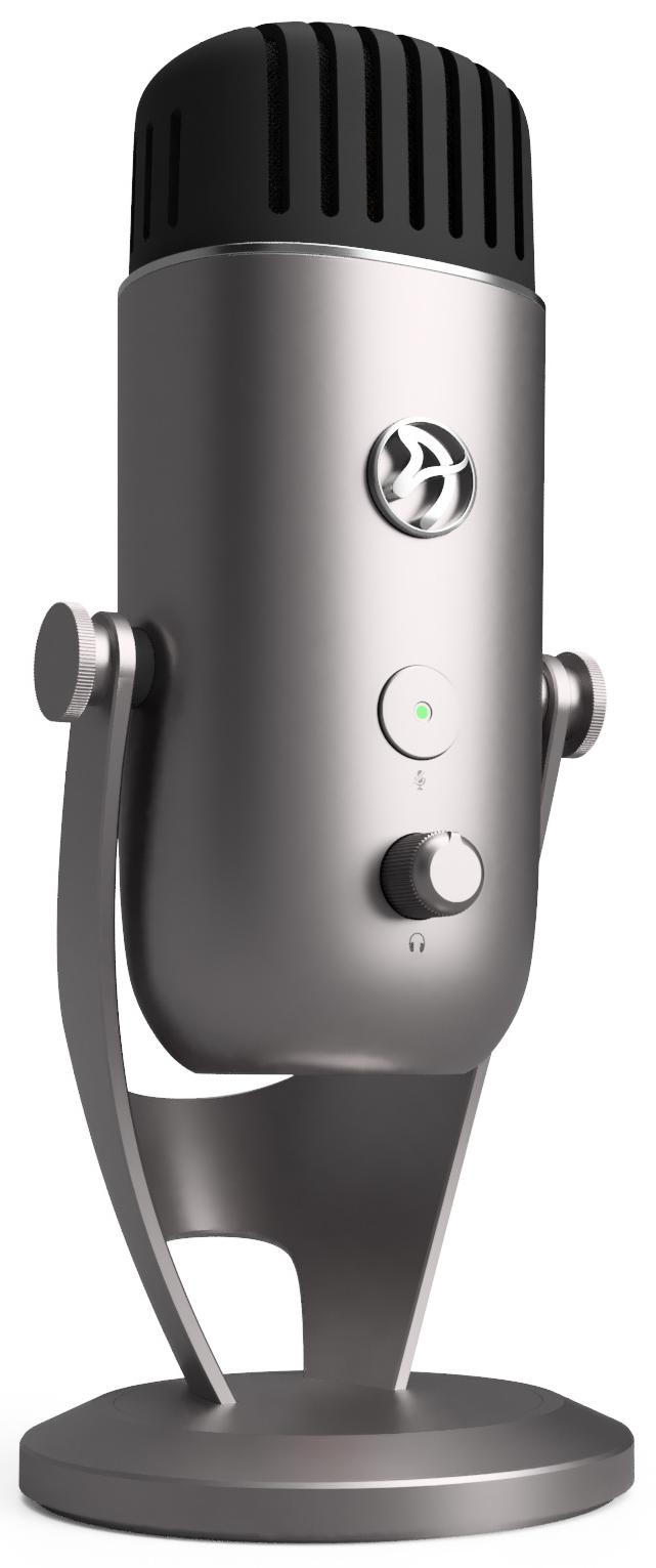 Цифровой микрофон Arozzi Colonna (Silver)