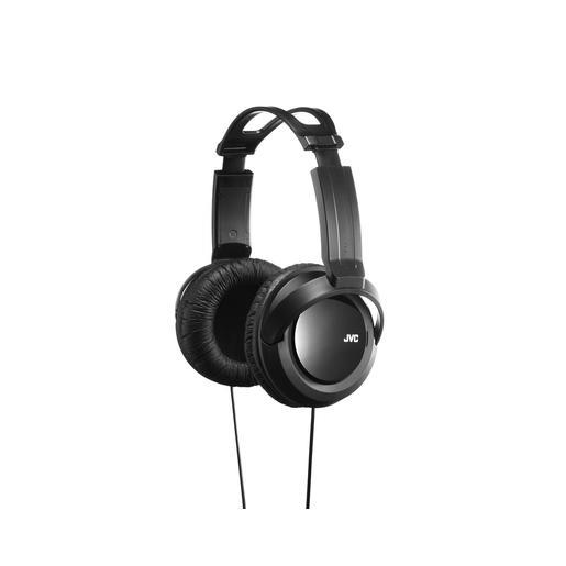 Наушники JVC полноразмерные высококачественные, модель HA-RX330-E. Цвет: черный